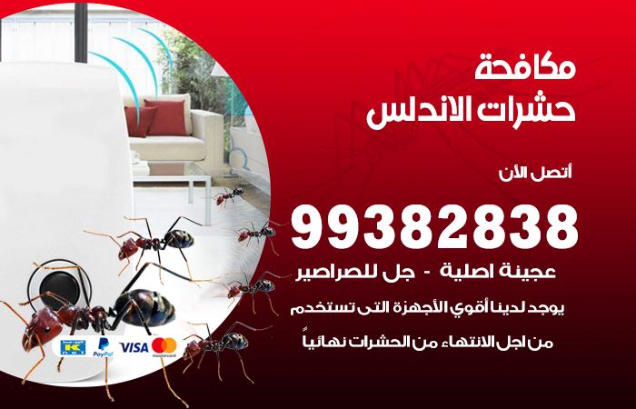 مكافحة حشرات الاندلس / 99382838 / أفضل شركة مكافحة حشرات في الاندلس