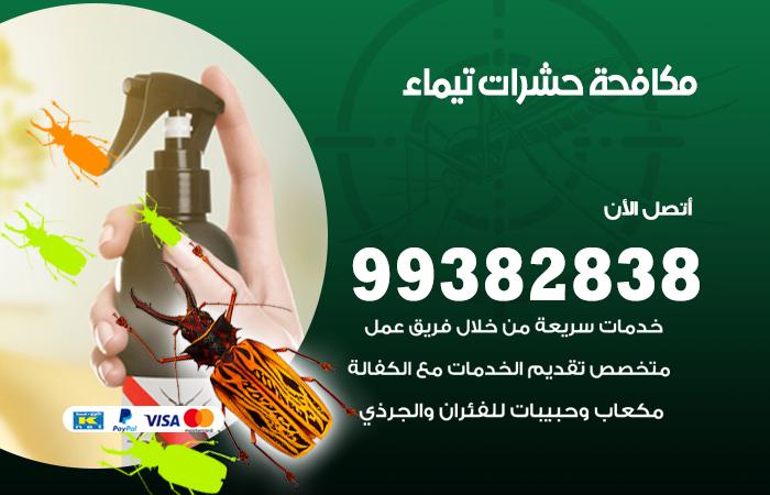 مكافحة حشرات تيماء / 99382838 / أفضل شركة مكافحة حشرات في تيماء