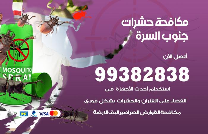 مكافحة حشرات جنوب السرة / 99382838 / أفضل شركة مكافحة حشرات في  جنوب السرة