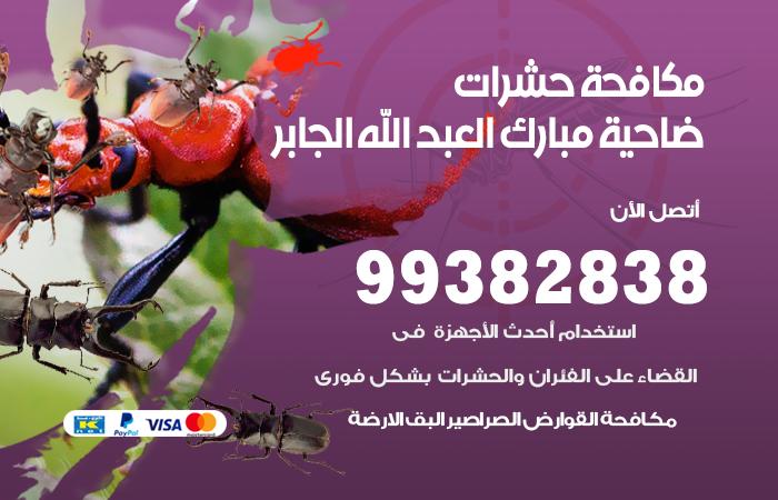 مكافحة حشرات ضاحية مبارك العبد الله الجابر / 99382838 / أفضل شركة مكافحة حشرات في ضاحية مبارك العبد الله الجابر