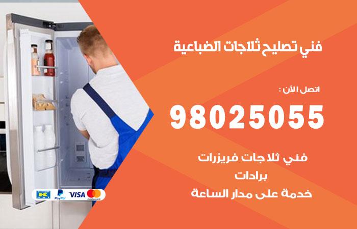 فني ثلاجات الضباعية / 98025055 / صيانة تصليح ثلاجات فريزات برادات الضباعية
