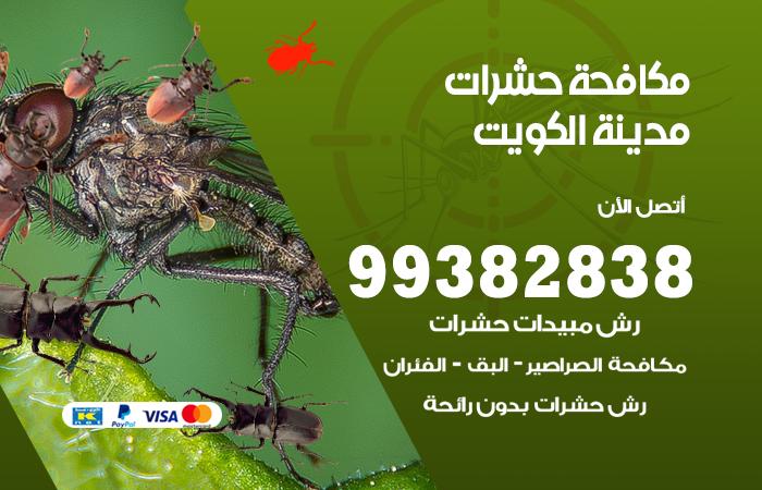 مكافحة حشرات مدينة الكويت / 99382838 / أفضل شركة مكافحة حشرات في مدينة الكويت