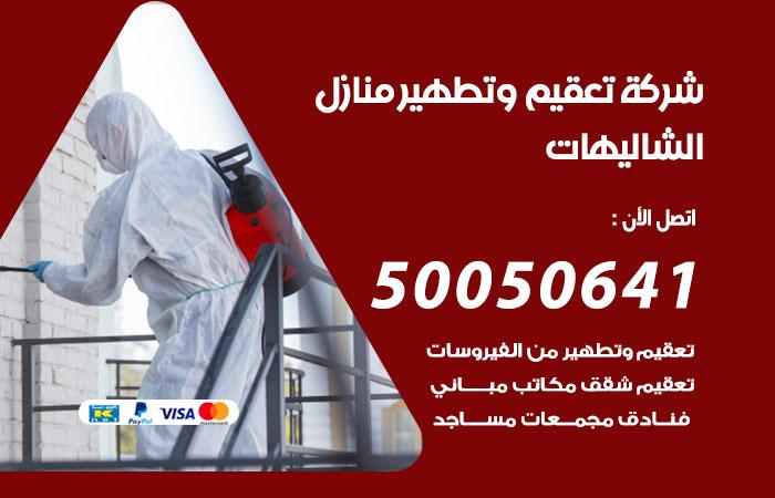 شركة تعقيم منازل الشاليهات / 50050641 / تعقيم وتطهير المنازل من فيروس كورونا