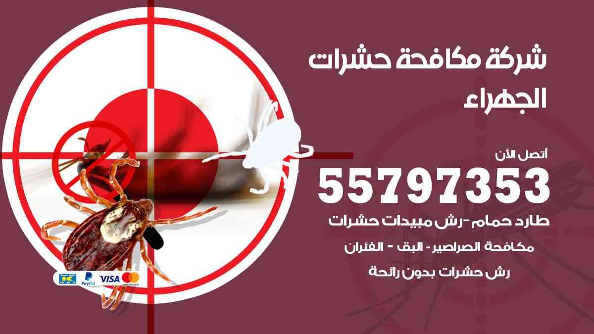 شركة مكافحة حشرات وقوارض الجهراء / 50050647 / رش الصراصيروالبق والفئران