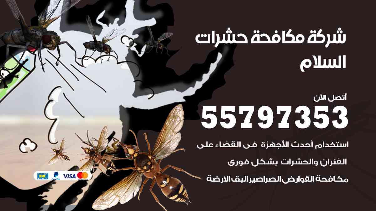 شركة مكافحة حشرات وقوارض السلام / 50050647 / رش الصراصيروالبق والفئران