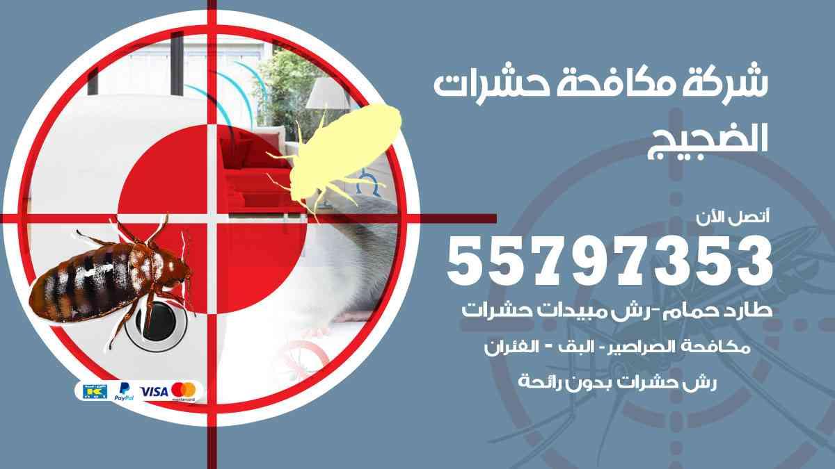 شركة مكافحة حشرات وقوارض الضجيج / 50050647 / رش الصراصيروالبق والفئران