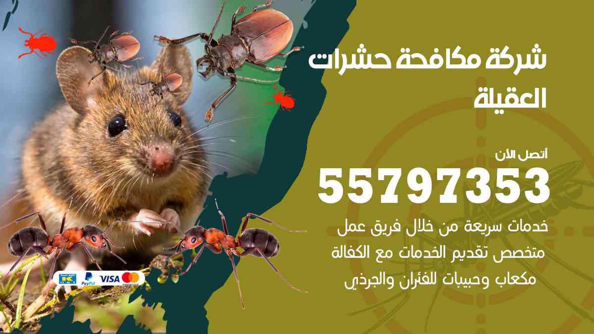 شركة مكافحة حشرات وقوارض العقيلة / 50050647 / رش الصراصيروالبق والفئران