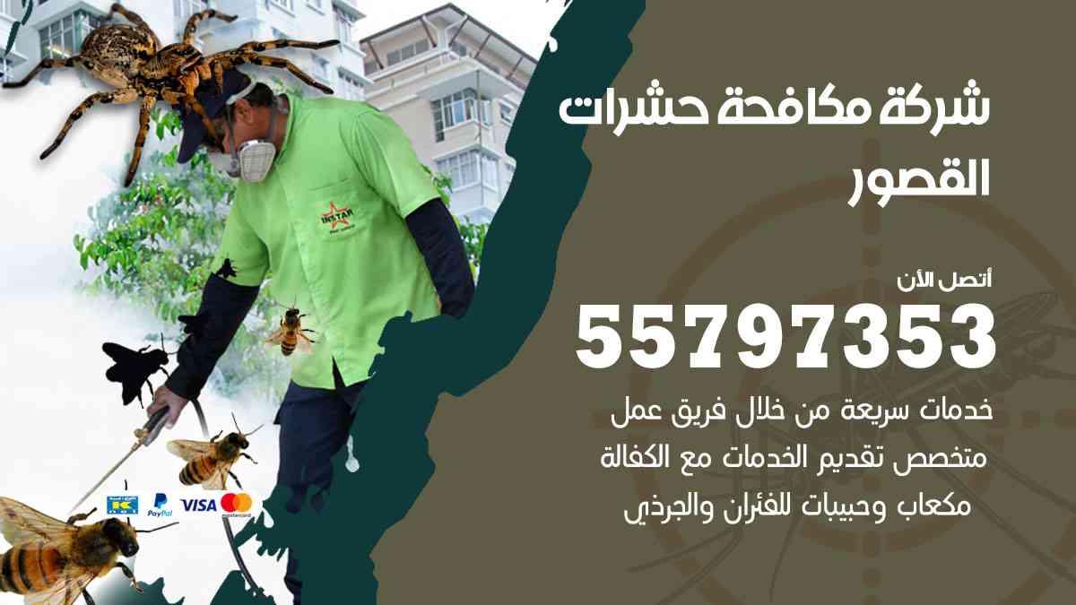 شركة مكافحة حشرات وقوارض القصور / 50050647 / رش الصراصيروالبق والفئران